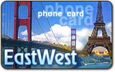 EastWest calling card
